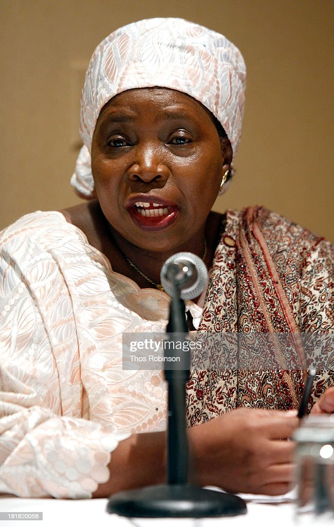 Dr. Nkosazana Dlamini Zuma attends Africa-America Institute 60th Anniversary Awards Gala at New York Hilton on September 25, 2013 in New York City.