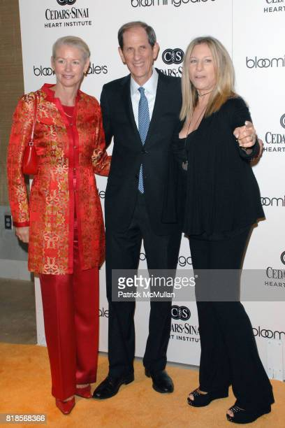 Dr Noel Bairey Merz Michael Gould and Barbra Streisand attend Bloomingdale's Santa Monica Hosts PreOpening Gala to Benefit Support CedarsSanai Heart...