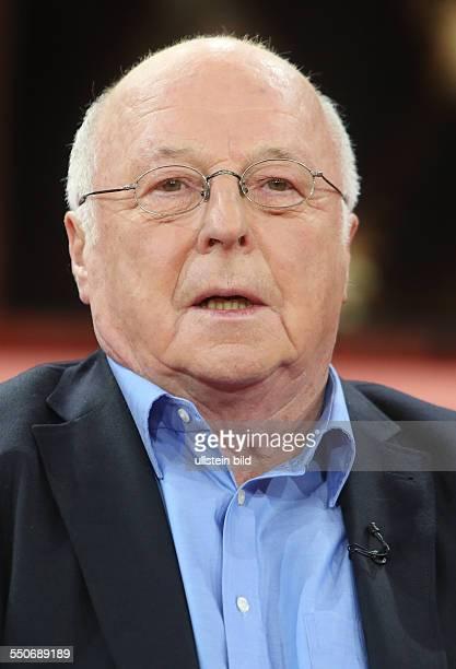 Dr Norbert Blüm in der ARDTalkshow 'GÜNTHER JAUCH' in Berlin