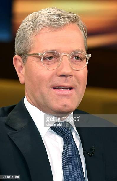 Dr Norbert Röttgen in der ARDTalkshow ANNE WILL am in BerlinThema der Sendung Finale in Brüssel Letzter Akt im griechischen Drama