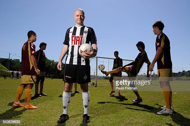 Dr Ognjen Amidzic at Atletico Mineiro's Soccer training center May 8th Belo Horizonte state of Minas Gerais Brazil Dr Amidzic has developed a brain...