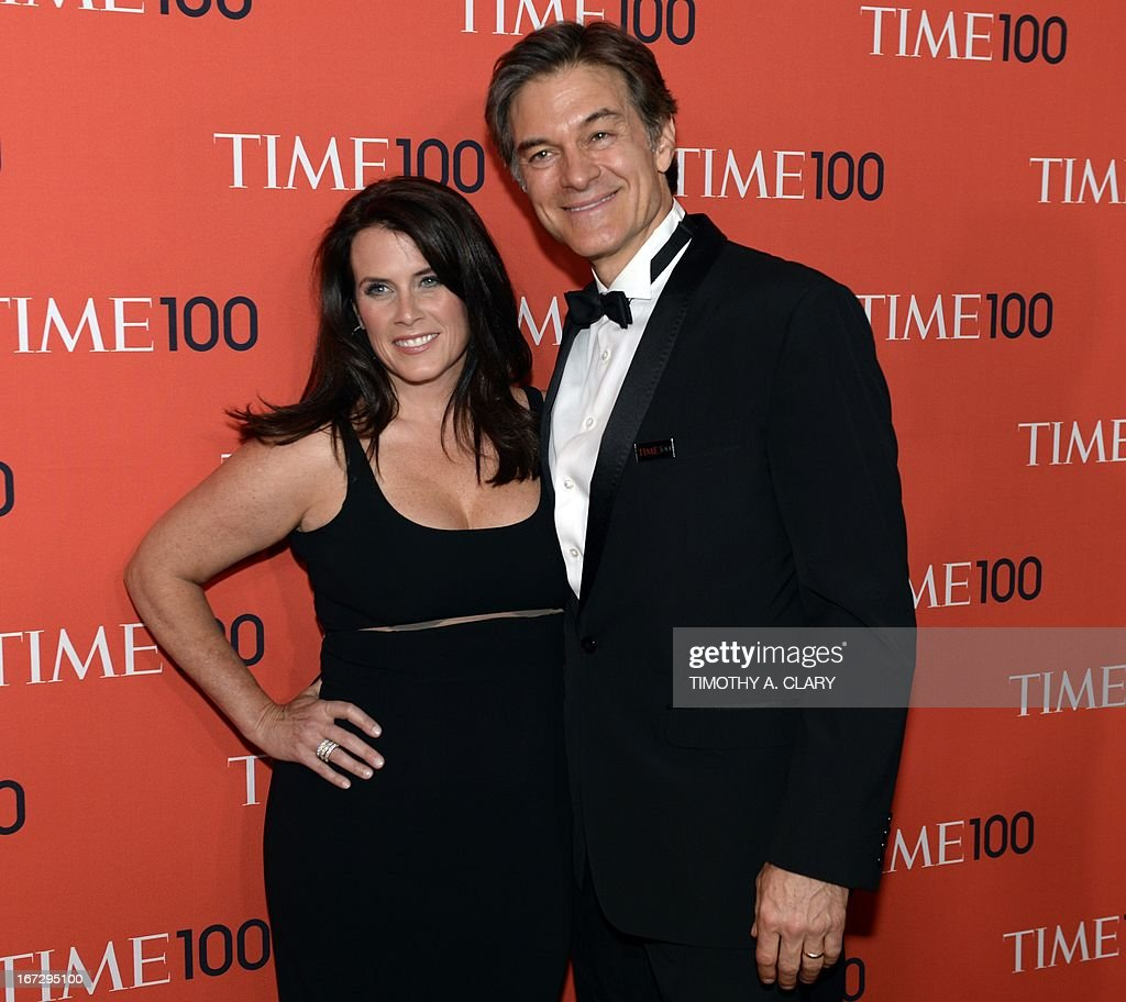 Dr. Oz and his wife Lisa attend the Time 100 Gala celebrating the Time 100 issue of the Most Influential People In The World at Jazz at Lincoln Center on April 23, 2013 in New York.