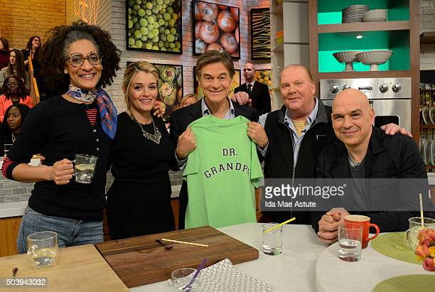 THE CHEW 1/7/16 Dr Oz appears on ABC's 'The Chew' today Thursday January 7 2015 THE CHEW airs MONDAY FRIDAY on the ABC Television Network