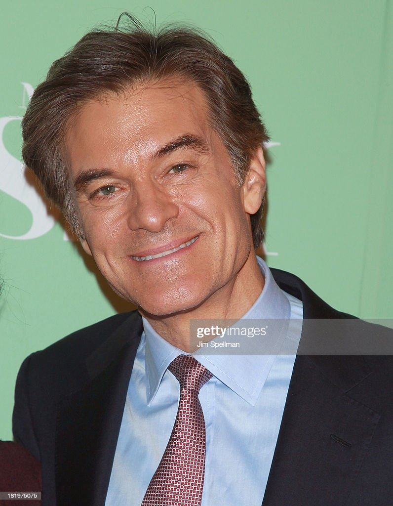Dr. Oz attends 'Masters Of Sex' New York Series Premiere at The Morgan Library & Museum on September 26, 2013 in New York City.