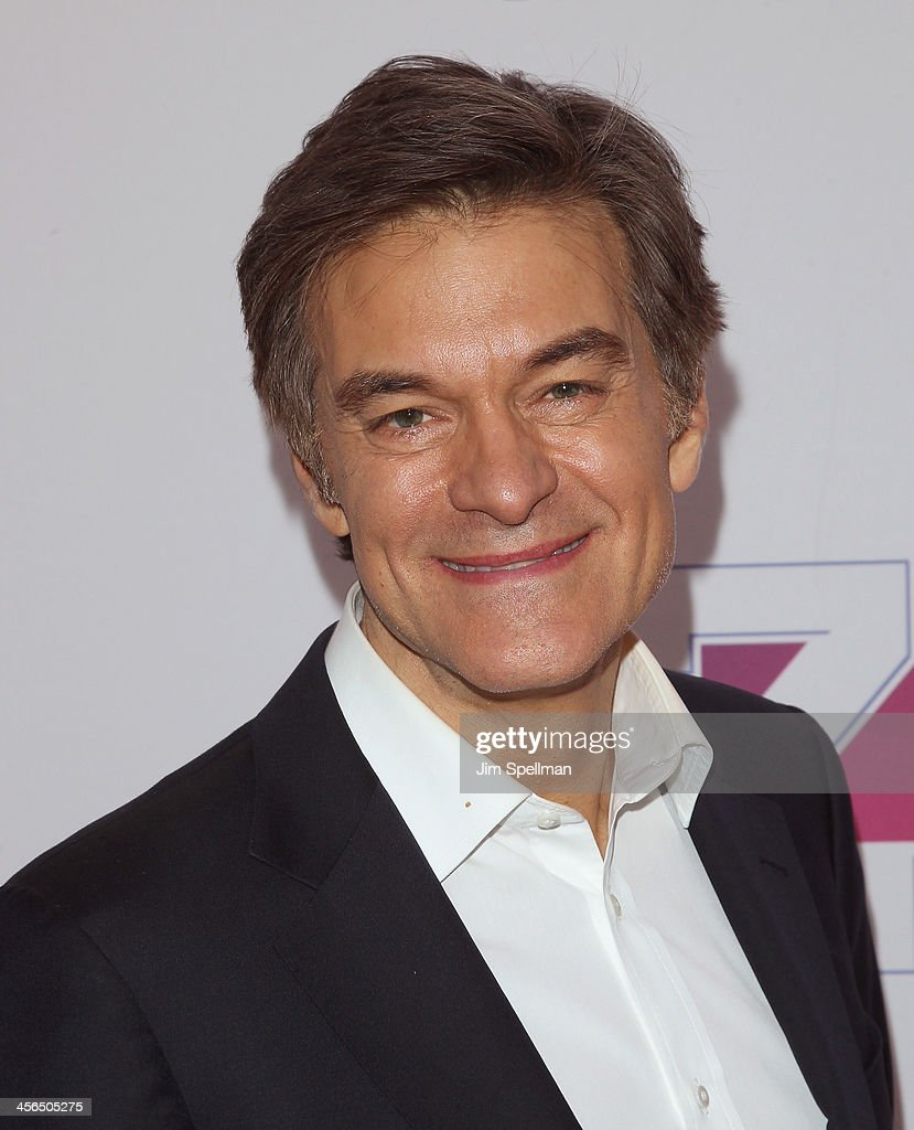 Dr. Oz attends Z100's Jingle Ball 2013 at Madison Square Garden on December 13, 2013 in New York City.