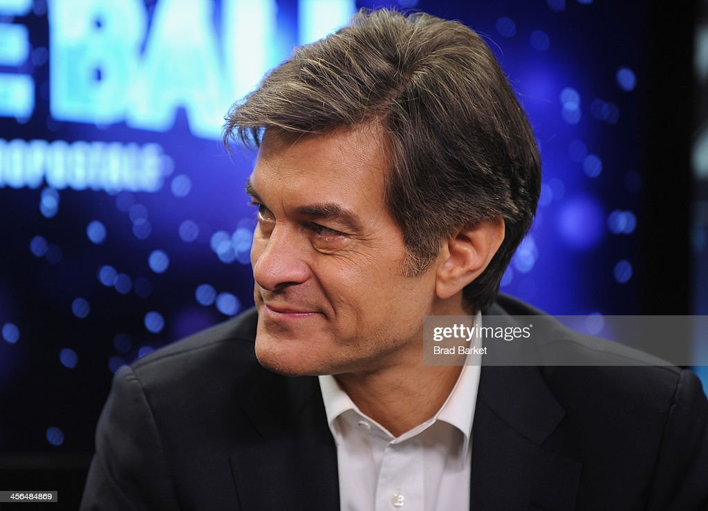 Dr. Oz poses backstage at Z100's Jingle Ball 2013, presented by Aeropostale, at Madison Square Garden on December 13, 2013 in New York City.