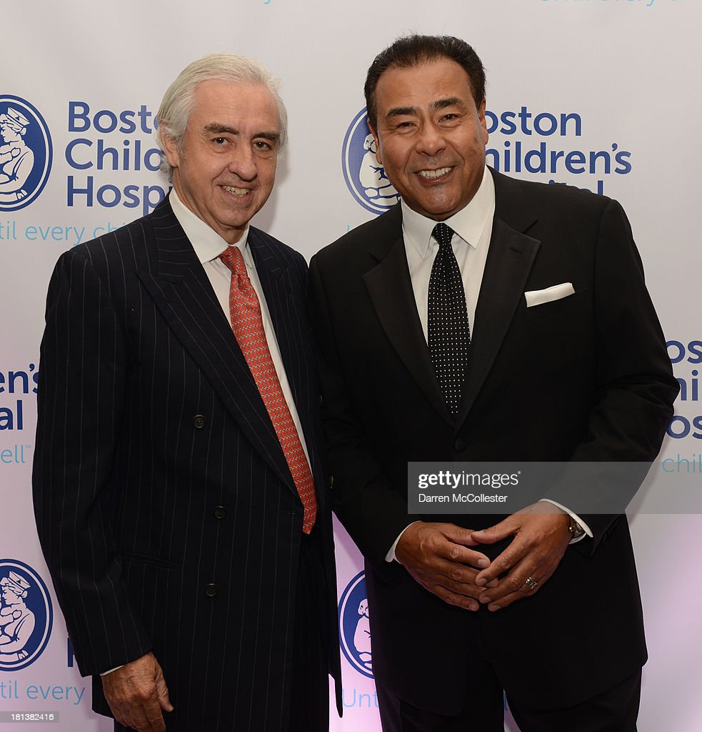 Dr. Patricio Vives (L) and John Quinones attend the 4th Annual Milagros para Ninos Gala benefitting Boston Children's Hospital at The Westin Boston Waterfront on September 20, 2013 in Boston, Massachusetts.