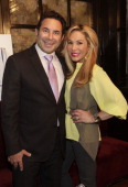 Dr Paul Nassif and Adrienne Maloof attend Adrienne Maloof Skin Care Launch at Bishops Barrons on June 4 2012 in New York City