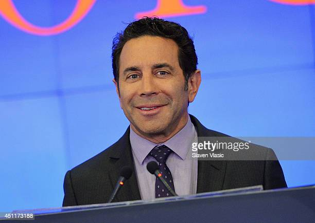 Dr Paul Nassif the cast member of 'Botched' rings the closing bell at NASDAQ MarketSite on June 24 2014 in New York City