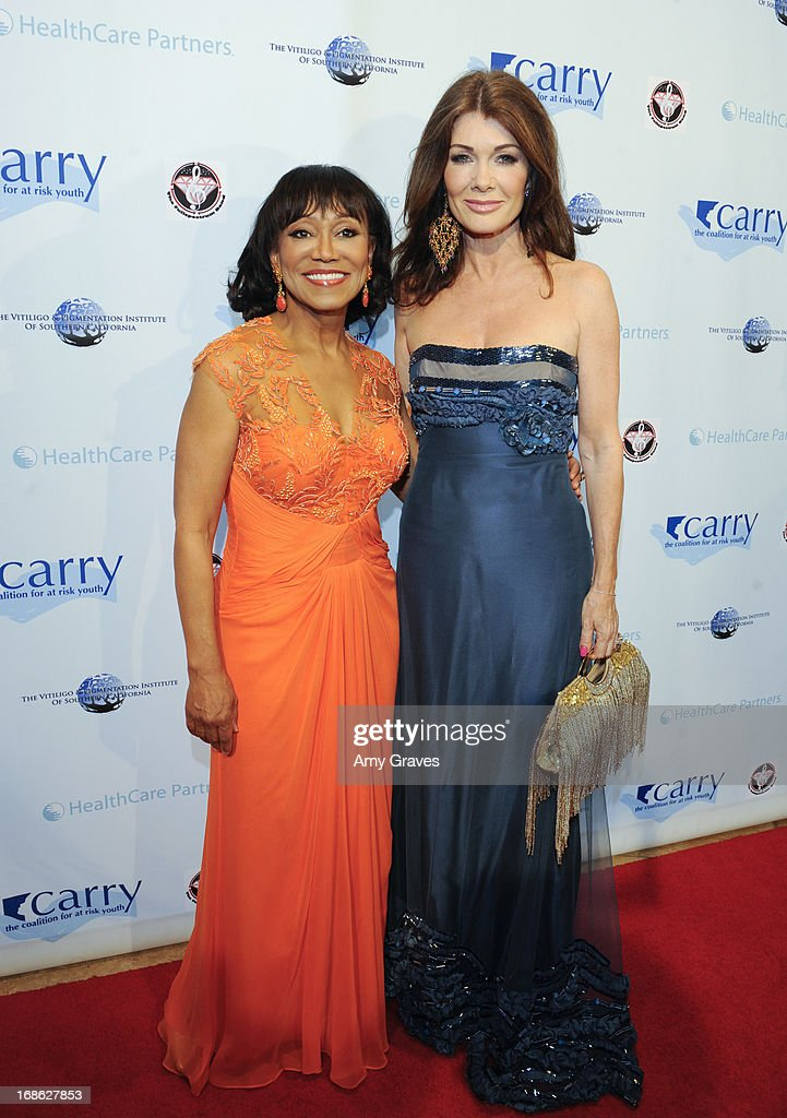 Dr. Pearl Grimes and <a gi-track='captionPersonalityLinkClicked' href=/galleries/search?phrase=Lisa+Vanderpump&family=editorial&specificpeople=6834933 ng-click='$event.stopPropagation()'>Lisa Vanderpump</a> attend the CARRY Foundation's 7th Annual 'Shall We Dance' Gala at The Beverly Hilton Hotel on May 11, 2013 in Beverly Hills, California.