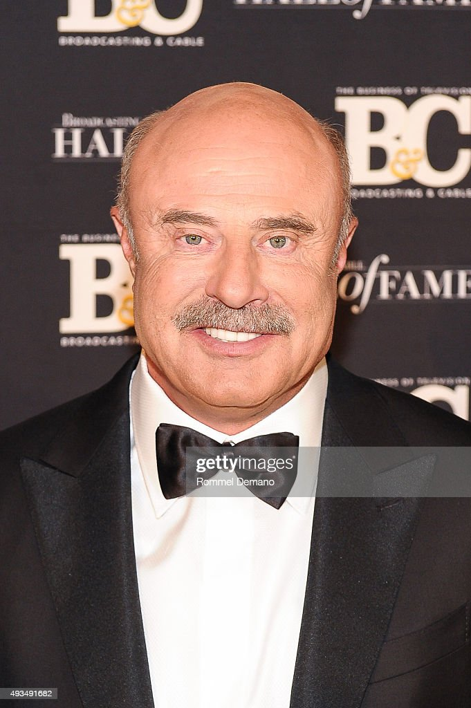 Dr. <a gi-track='captionPersonalityLinkClicked' href=/galleries/search?phrase=Phil+McGraw&family=editorial&specificpeople=234933 ng-click='$event.stopPropagation()'>Phil McGraw</a> attends Broadcasting and Cable Hall Of Fame Awards 25th Anniversary Gala at The Waldorf Astoria on October 20, 2015 in New York City.