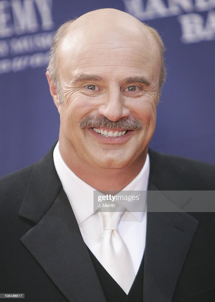 Dr. <a gi-track='captionPersonalityLinkClicked' href=/galleries/search?phrase=Phil+McGraw&family=editorial&specificpeople=234933 ng-click='$event.stopPropagation()'>Phil McGraw</a> during 40th Annual Academy of Country Music Awards - Orange Carpet at Mandalay Bay Resort & Casino in Las Vegas, Nevada, United States.