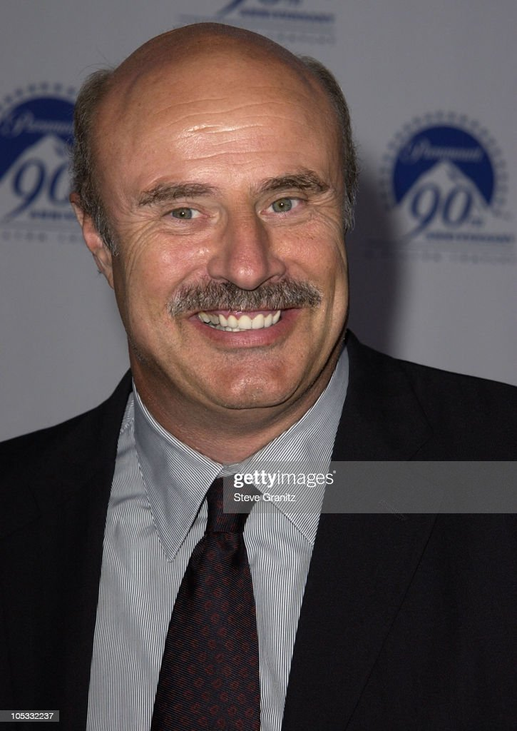Dr. <a gi-track='captionPersonalityLinkClicked' href=/galleries/search?phrase=Phil+McGraw&family=editorial&specificpeople=234933 ng-click='$event.stopPropagation()'>Phil McGraw</a> during Paramount Pictures Celebrates 90th Anniversary With 90 Stars for 90 Years at Paramount Pictures in Los Angeles, California, United States.