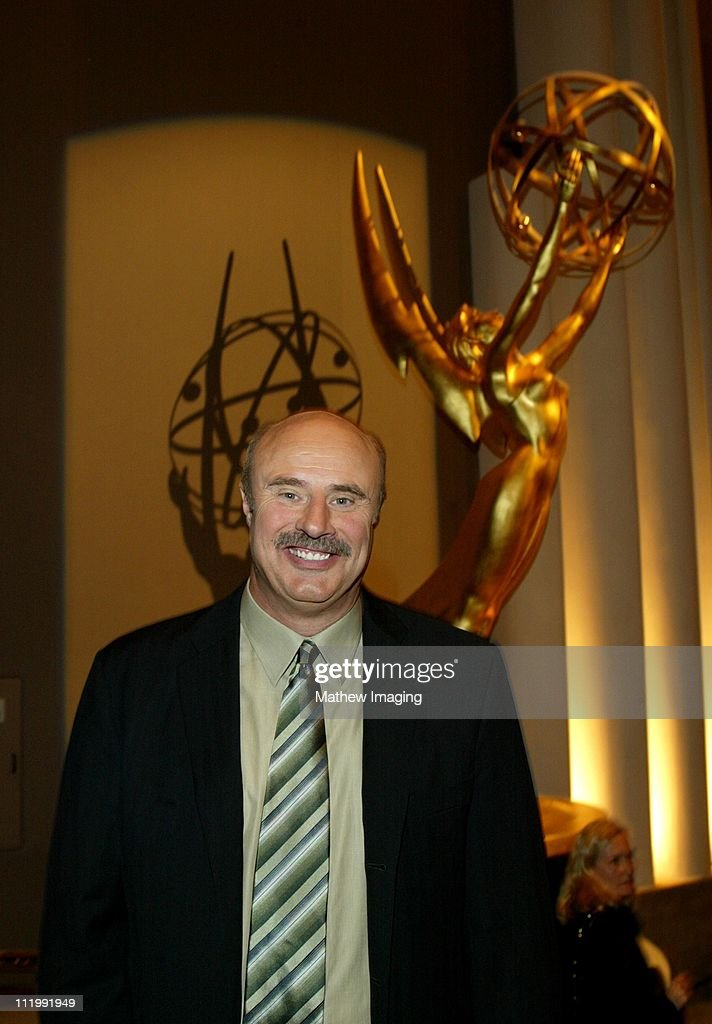 Dr. <a gi-track='captionPersonalityLinkClicked' href=/galleries/search?phrase=Phil+McGraw&family=editorial&specificpeople=234933 ng-click='$event.stopPropagation()'>Phil McGraw</a> during The Academy of Television Arts & Sciences presents Behind the Scenes of Dr. Phil at Leonard H. Goldenson Theatre in North Hollywood, CA, United States.