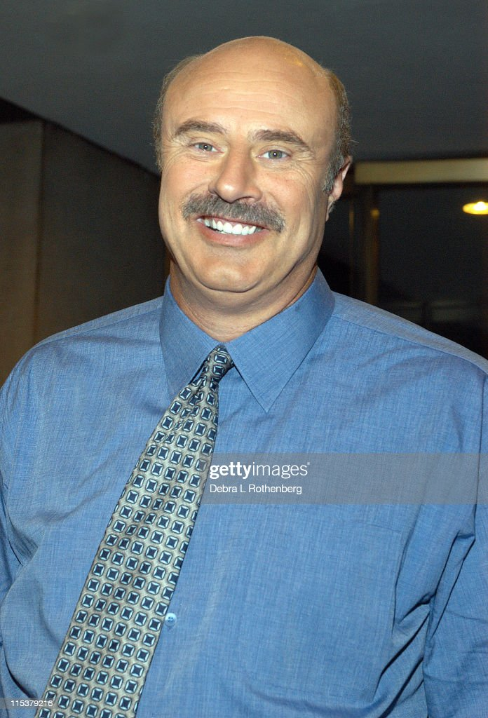 Dr. <a gi-track='captionPersonalityLinkClicked' href=/galleries/search?phrase=Phil+McGraw&family=editorial&specificpeople=234933 ng-click='$event.stopPropagation()'>Phil McGraw</a> during The 'Today' Show's 2003 Summer Concert Series - Sugar Ray at Rockefeller Plaza in New York City, New York, United States.