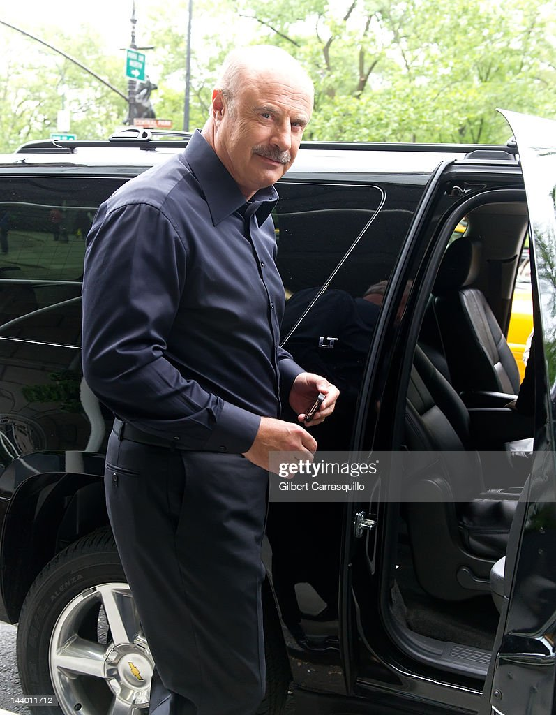 Dr. <a gi-track='captionPersonalityLinkClicked' href=/galleries/search?phrase=Phil+McGraw&family=editorial&specificpeople=234933 ng-click='$event.stopPropagation()'>Phil McGraw</a> seen at the Ritz Carlton on May 7, 2012 in New York City.