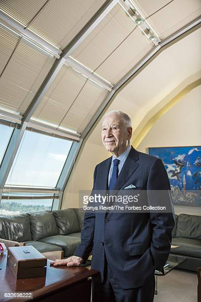 Dr Phillip Frost is photographed for Forbes Magazine on November 10 2016 in Miami Florida PUBLISHED IMAGE CREDIT MUST READ Sonya Revell/The Forbes...