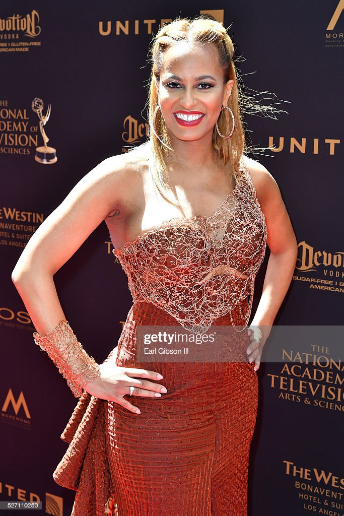Dr. Rachael Ross arrives at the 43rd Annual Daytime Emmy Awards at the Westin Bonaventure Hotel on May 1, 2016 in Los Angeles, California.