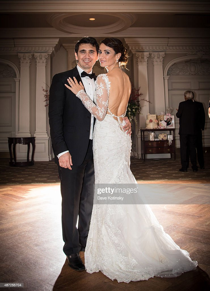 Sheila Malek Pose At The Wedding Of