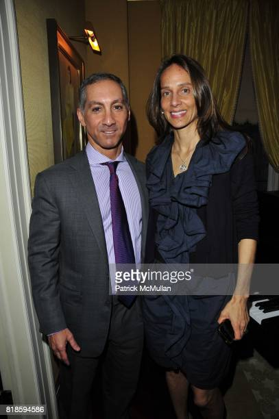 Dr Ray Brooady and Marcia Mishaan attend Dinner party to celebrate The Child Mind Institute's 2010 Adam Jeffrey Katz Memorial Lecture Series at The...