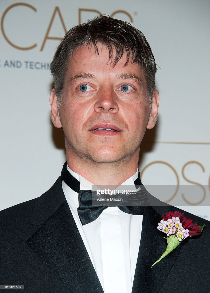Dr Richard Dorling arrives at the Academy Of Motion Picture Arts And Sciences' Scientific & Technical Awards at Beverly Hills Hotel on February 9, 2013 in Beverly Hills, California.