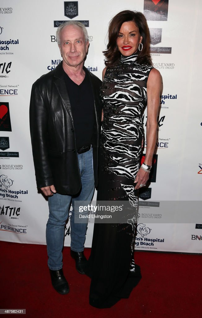 Dr. Robert Gerner (L) and TV personality <a gi-track='captionPersonalityLinkClicked' href=/galleries/search?phrase=Janice+Dickinson&family=editorial&specificpeople=208845 ng-click='$event.stopPropagation()'>Janice Dickinson</a> attend '30 Years of Music, Art & Fashion' benefiting Miller Children's Hospital at The Attic on April 30, 2014 in Los Angeles, California.
