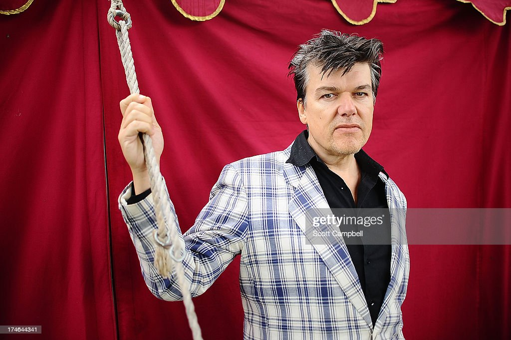 Dr Robert of The Blow Monkeys poses for a portrait on Day 3 of Rewind 80s Festival 2013 at Scone Palace on July 28, 2013 in Perth, Scotland.