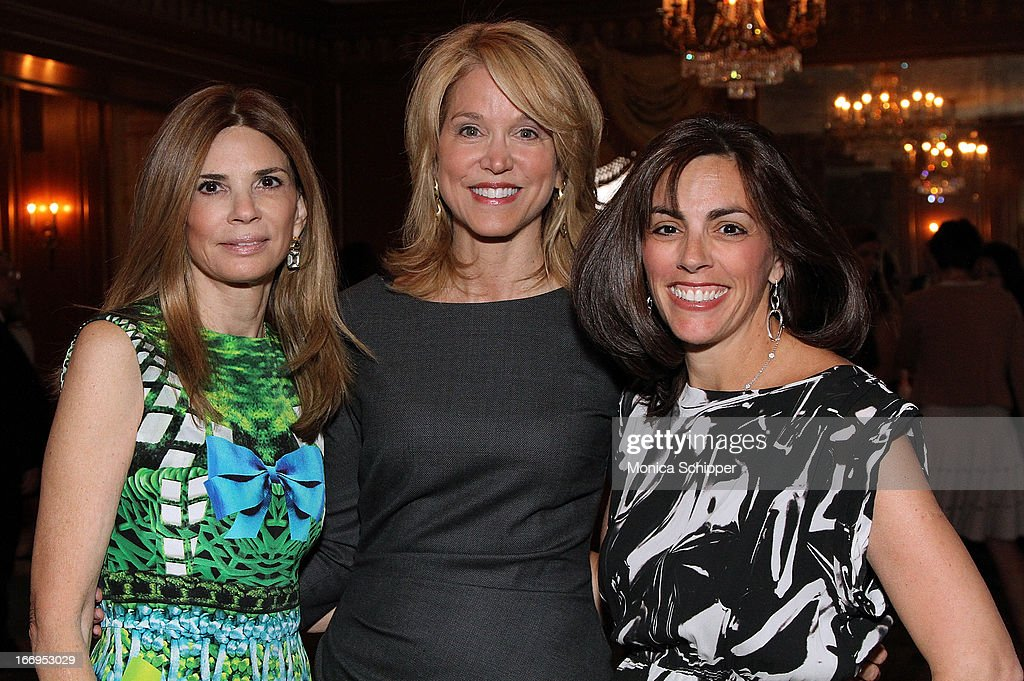 Dr Robin Meltzer, Paula Zahn and Lisa Lori attend The New York Society For The Prevention Of Cruelty To Children's 2013 Spring Luncheon at The Pierre Hotel on April 18, 2013 in New York City.
