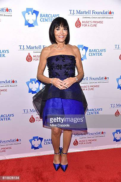 Dr Ronda Bixon attends TJ Martell Foundation's 41st Annual Honors Gala at Gustavino's on October 18 2016 in New York City