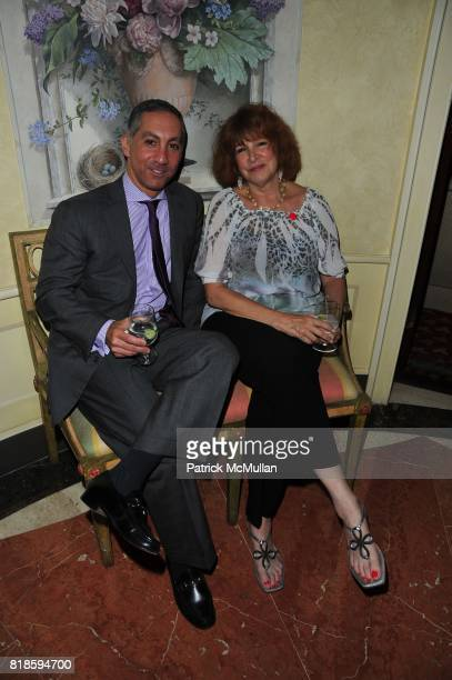 Dr Roy Brooady and Phyllis Green attend Dinner party to celebrate The Child Mind Institute's 2010 Adam Jeffrey Katz Memorial Lecture Series at The...