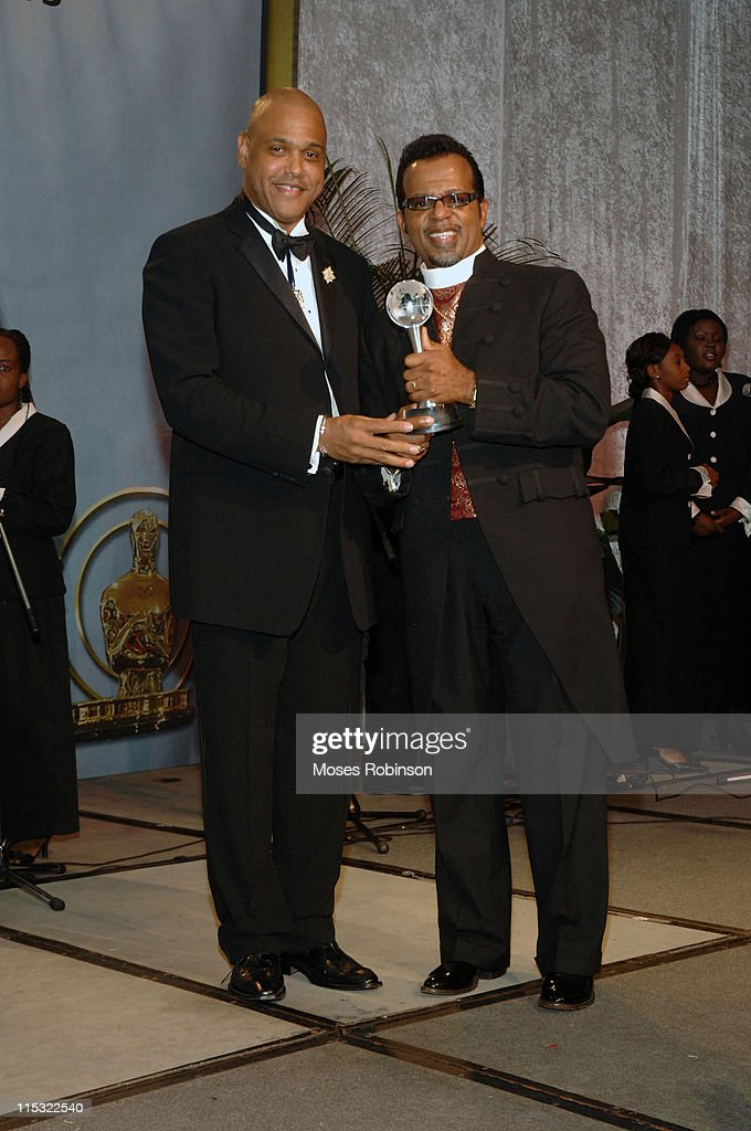 Dr Rudolph K King and Bishop Carlton D Pearson during 2006 Salute to Greatness Awards Dinner at Wyndhamn Nassau Resort and Crystal Palace Casino in...
