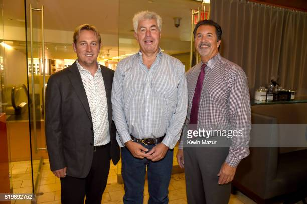 Dr Russell Rockne Coran Capshaw founder of Red Light Management and Kevin Courtney AVP National and Corporate Philanthropy attend City of Hope's The...
