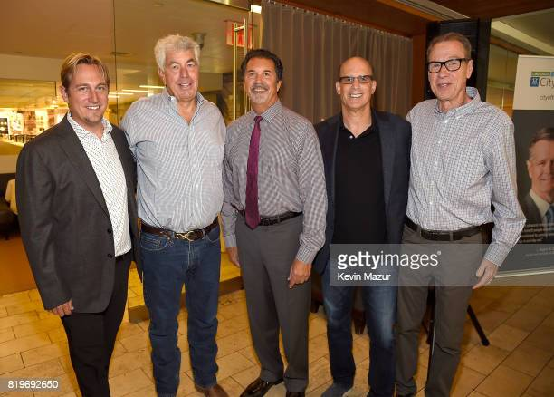 Dr Russell Rockne Coran Capshaw founder of Red Light Management Kevin Courtney AVP National and Corporate Philanthropy Bruce Resnikoff CEO of...