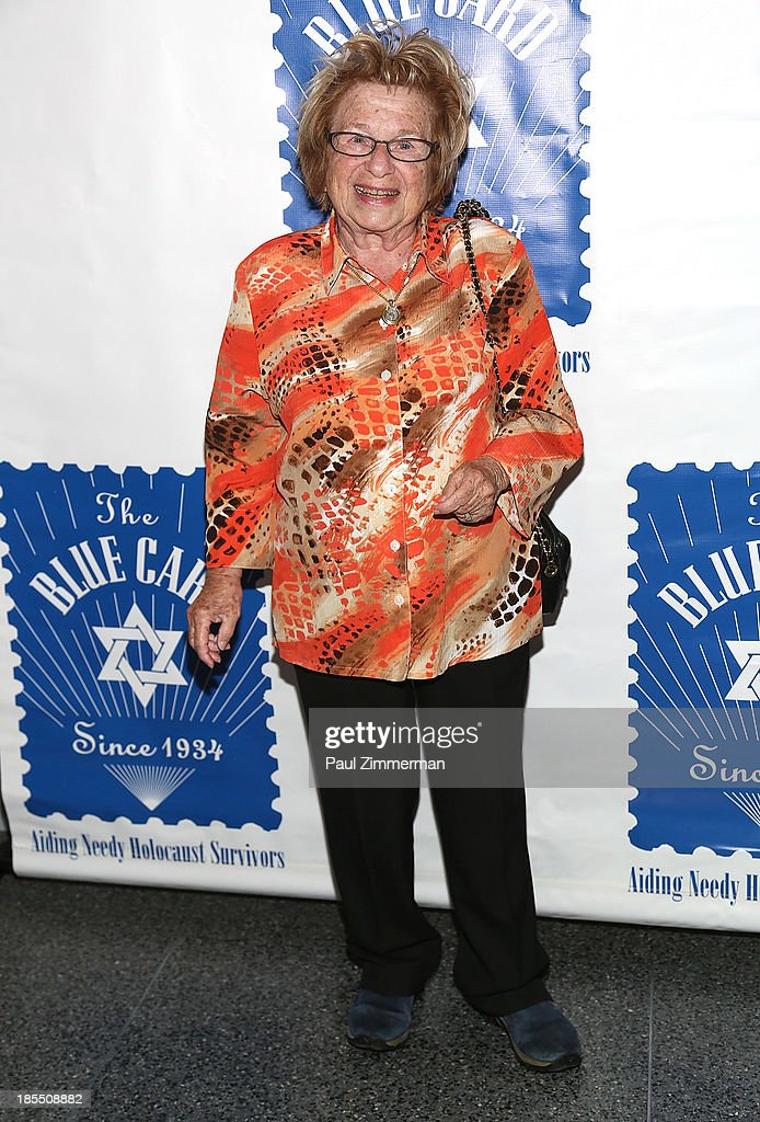 Dr. Ruth K. Westheimer attends the 79th annual Blue Card Benefit gala at American Museum of Natural History on October 21, 2013 in New York City.