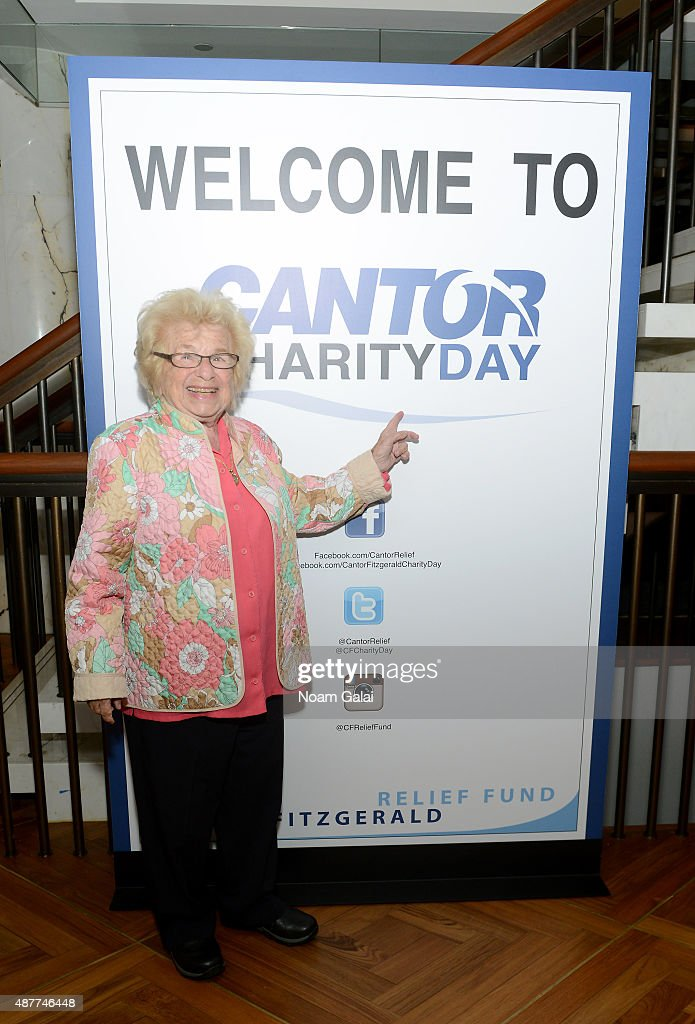 Annual Charity Day Hosted By Cantor Fitzgerald And BGC - Cantor Fitzgerald Office - Arrivals