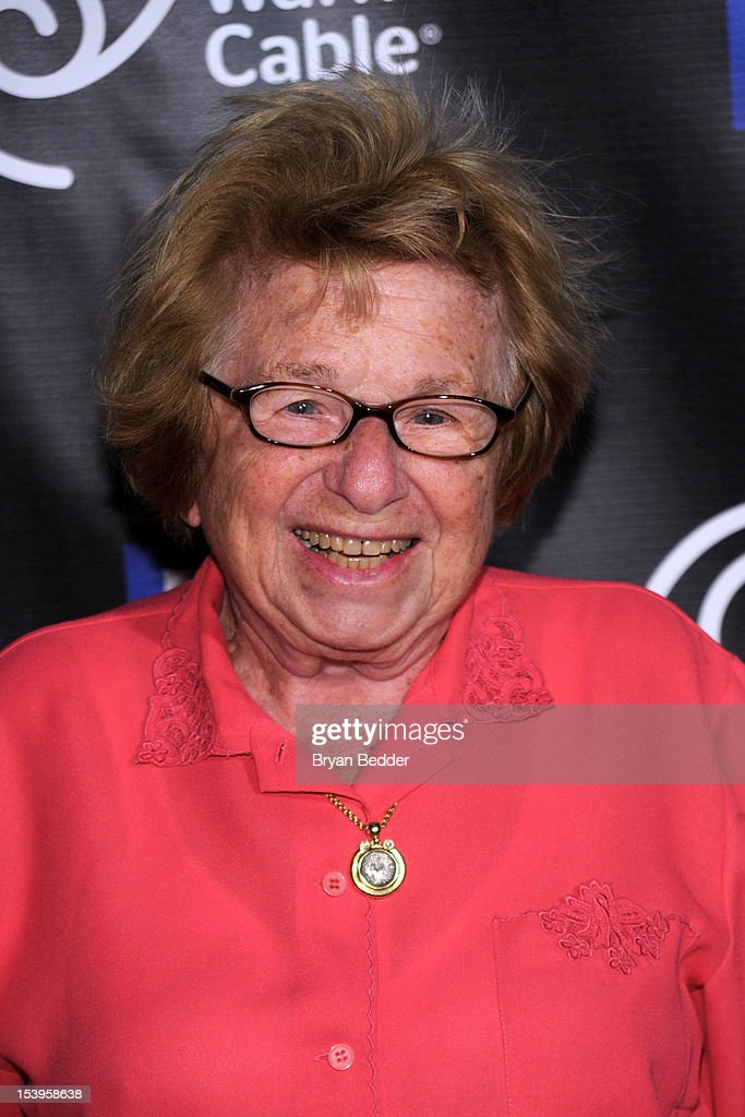 Dr. <a gi-track='captionPersonalityLinkClicked' href=/galleries/search?phrase=Ruth+Westheimer&family=editorial&specificpeople=216372 ng-click='$event.stopPropagation()'>Ruth Westheimer</a> attends the NY1 20th Anniversary party, in celebration of two decades of the New York City news channel at New York Public Library on October 11, 2012 in New York City.