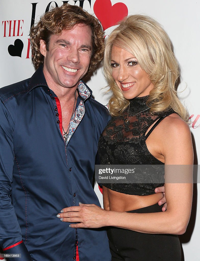 Dr. Rutledge Taylor (L) and recording artist Debbie Gibson attend iiJin's Fall/Winter 2013 'The Love Revolution' fashion show at Avalon on April 3, 2013 in Hollywood, California.