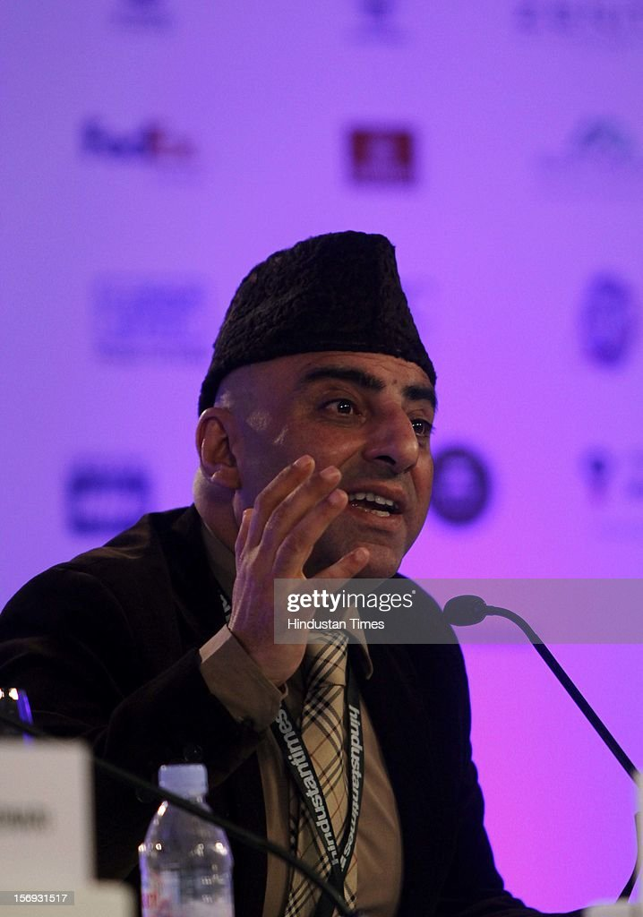 Dr Sameer Kaul, Senior Surgical Oncologist Indraprastha Apollo, speaks during the fourth session of Hindustan Times Summit at Taj Palace in New Delhi on Friday, November 16 2012.