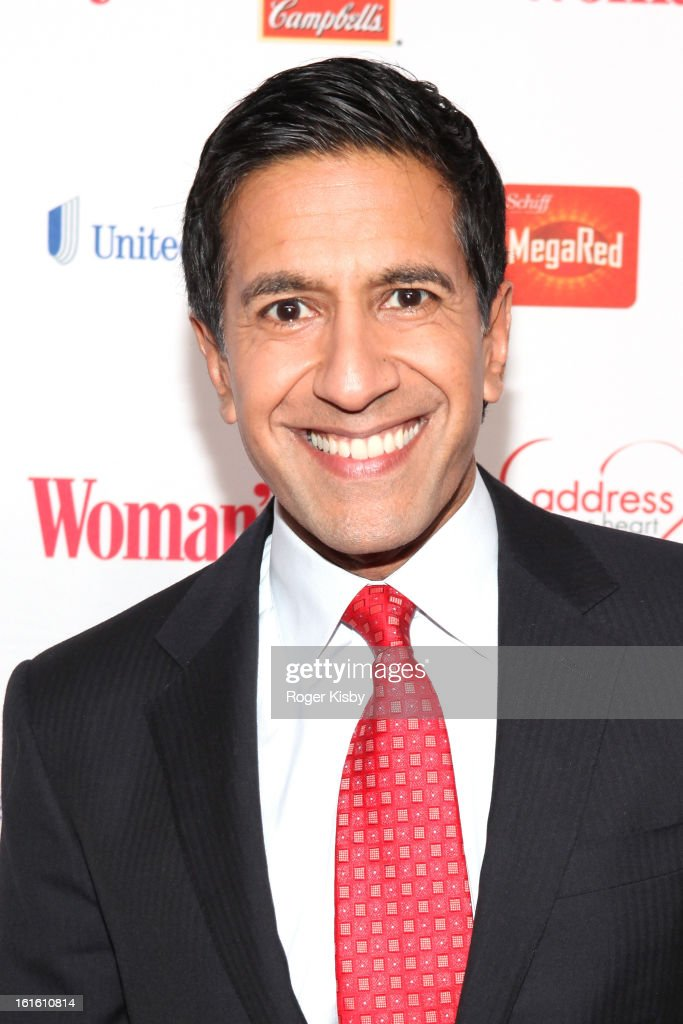 <a gi-track='captionPersonalityLinkClicked' href=/galleries/search?phrase=Dr.+Sanjay+Gupta&family=editorial&specificpeople=3093323 ng-click='$event.stopPropagation()'>Dr. Sanjay Gupta</a> attends the 10th Annual Red Dress Awards at Jazz at Lincoln Center on February 12, 2013 in New York City.