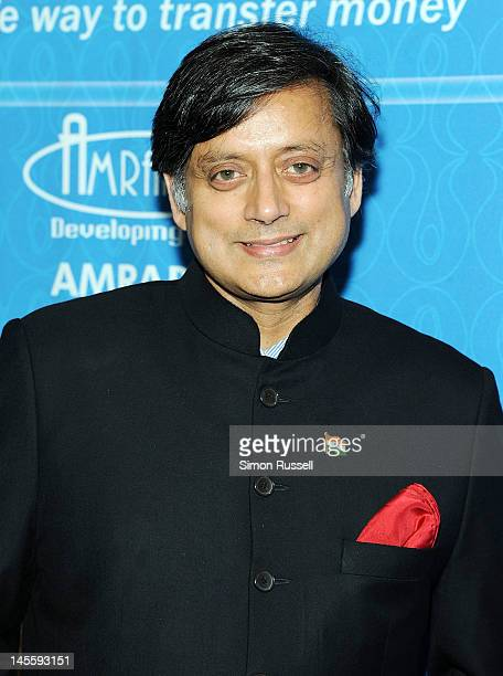 Dr Shashi Tharoor attends The Light Of India Awards at The Pierre Hotel on June 1 2012 in New York City
