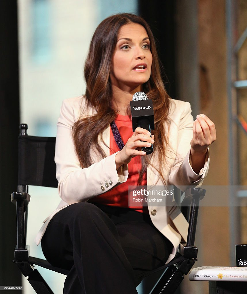 Dr. Shefali Tsabary attends AOL Build Presents Dr. Shefali Tsabary Discussing Her New Book 'The Awakened Family: A Revolution in Parenting' at AOL Studios In New York on May 26, 2016 in New York City.