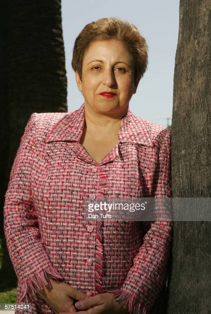 Dr Shirin Ebadi poses for a photo on April 7 2006 in Los Angeles California