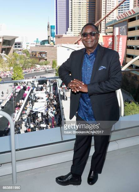 Dr Sidney A McPhee the tenth president of Middle Tennessee State University attends the 52nd Academy Of Country Music Awards at TMobile Arena on...