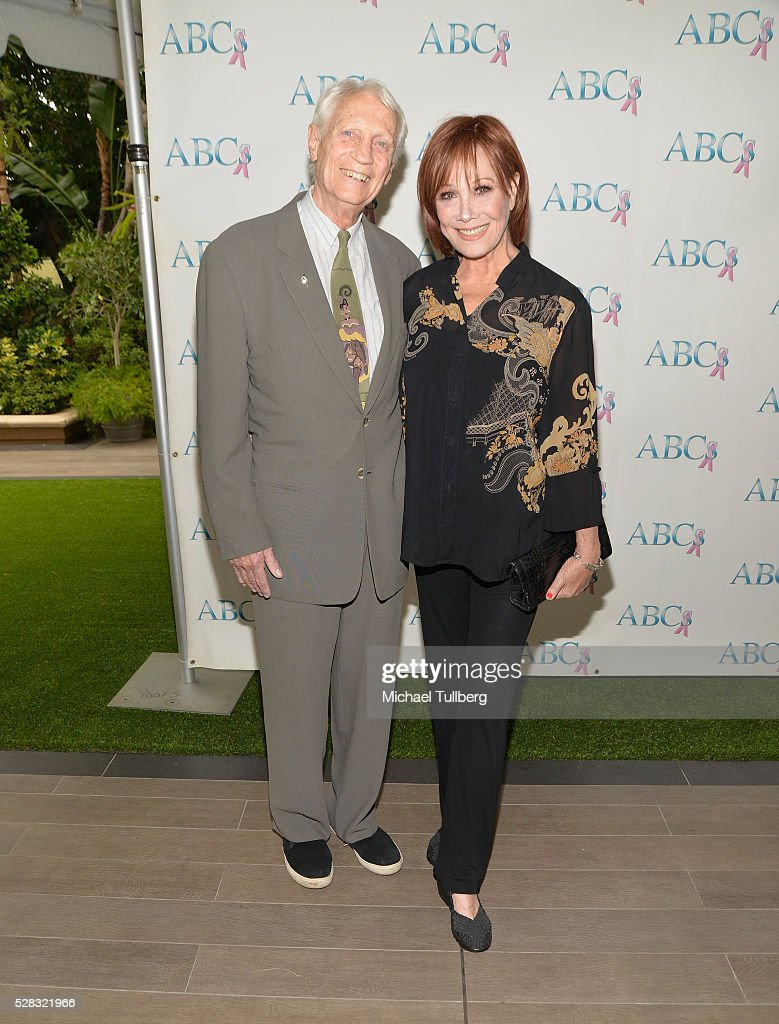 Dr. Stanley Frileck and actress Michele Lee attend the Associates For Breast and Prostate Cancer Studies' annual Mother's Day Luncheon at Four Seasons Hotel Los Angeles at Beverly Hills on May 4, 2016 in Los Angeles, California.