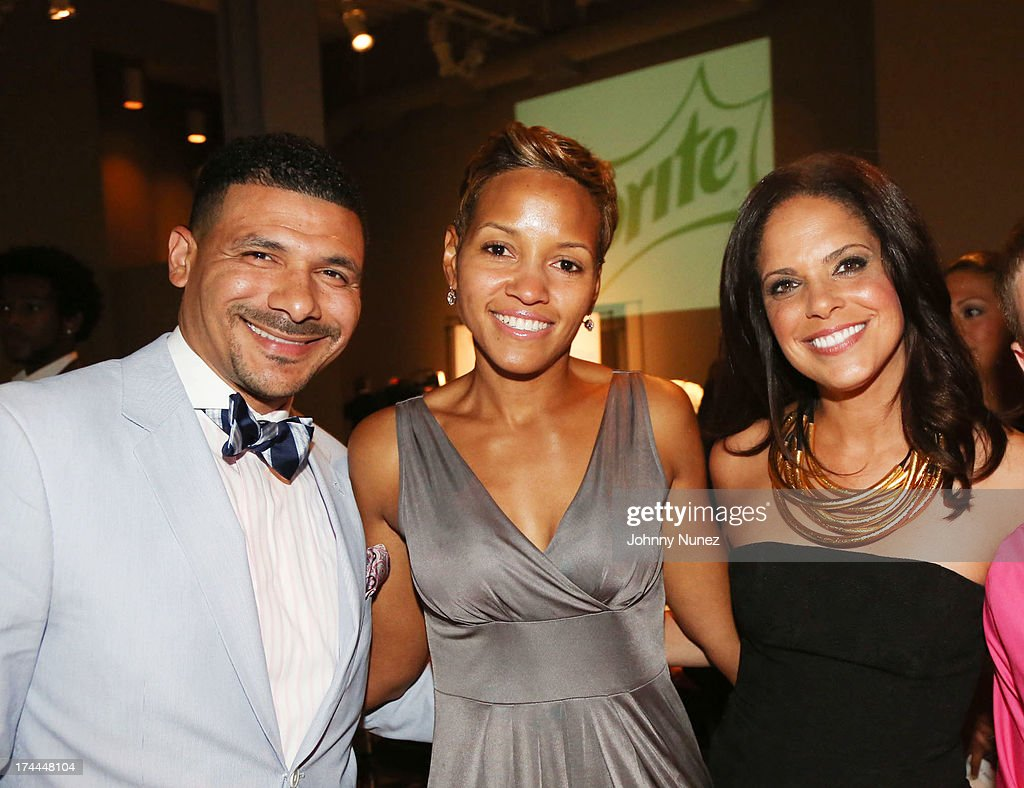 Dr. Steve Perry, Lalani Perry and <a gi-track='captionPersonalityLinkClicked' href=/galleries/search?phrase=Soledad+O%27Brien&family=editorial&specificpeople=223926 ng-click='$event.stopPropagation()'>Soledad O'Brien</a> attend the 3rd Annual New Orleans to New York Benefit Gala at Donna Karan's Stephen Weiss Studio on July 25, 2013 in New York City.
