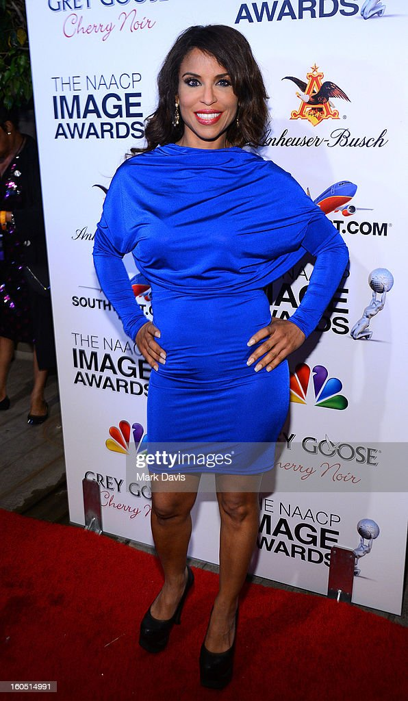 Dr. Susan Evans arrives at the 44th NAACP Image Awards after party held at the Millennium Biltmore Hotel on February 1, 2013 in Los Angeles, California.