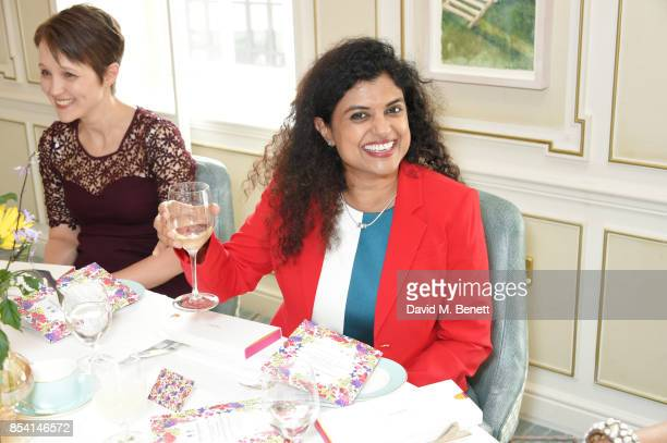 Dr Susana Banerjee attends the 4th annual Ladies' Lunch in support of the Silent No More Gynaecological Cancer Fund at Fortnum Mason on September 26...