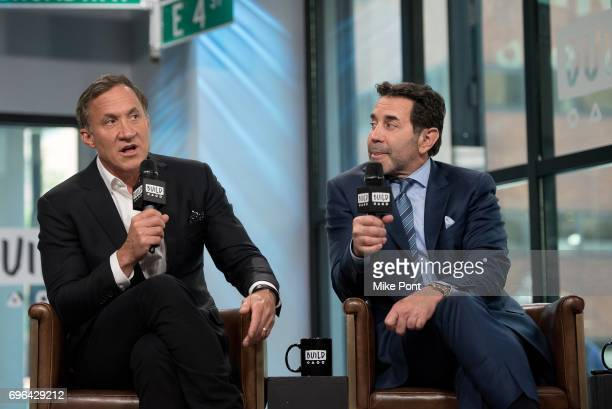 Dr Terry Dubrow and Dr Paul Nassif visit Build Studio to discuss 'Botched' at Build Studio on June 15 2017 in New York City