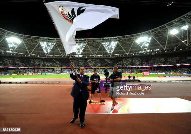 E Dr Thani Abdulrahman Al Kuwari VicePresident IAAF World Championships Doha 2019 and President Qatar Athletics Federation participates in the...