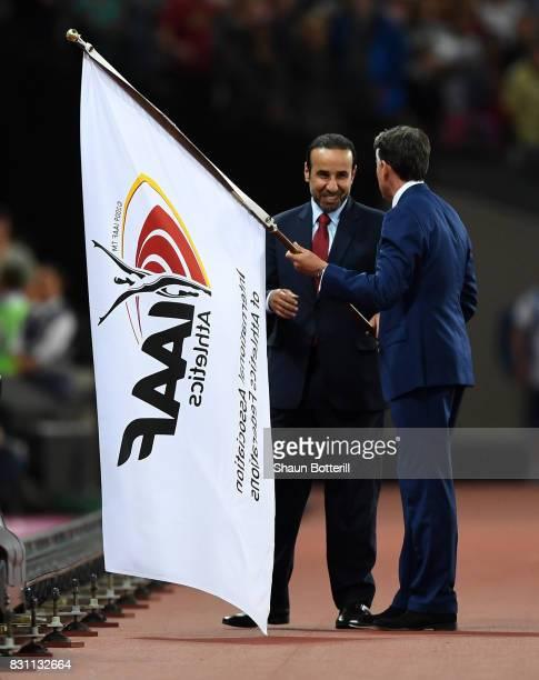 E Dr Thani Abdulrahman Al Kuwari VicePresident IAAF World Championships Doha 2019 and President Qatar Athletics Federation and IAAF President...